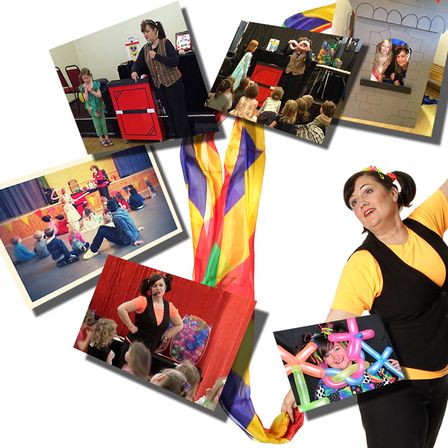 Barmy Bella makes your kids' party FUN!
